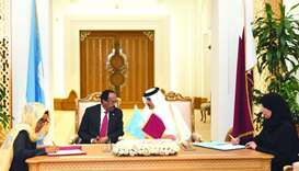 Qatar, Somalia to enhance relations