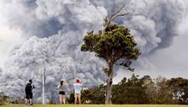 Ash cloud from Hawaii volcano sparks red alert for aviation