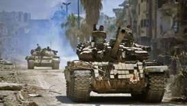 Syrian rebels pull out of their last besieged area