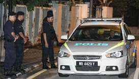 Police search scandal-tainted Malaysian ex-premier's home