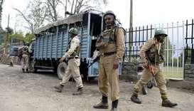 Srinagar security