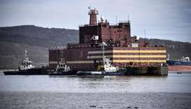 World's first floating nuclear barge to power Russia's Arctic oil drive