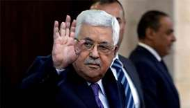 Palestinian president back in hospital, says source