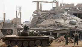 Syria out to crush resistance, denies evacuation deal