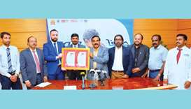 Safa water awarded global recognition for food safety