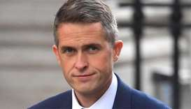 Defence Minister Gavin Williamson