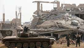 More IS fighters leave Damascus district: monitor