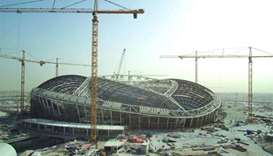 Final piece of roof installed at Al Wakrah Stadium