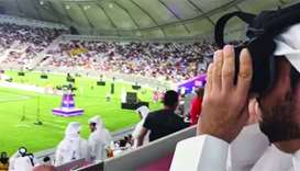 Ooredoo shows future power of 5G technology at Amir Cup final