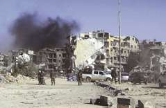 Troops take control over capital after ousting IS
