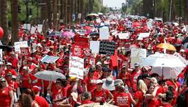 Arizona teachers to end strike if lawmakers reach budget deal