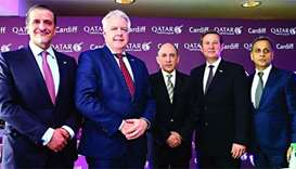 Qatar Airways seeks to bring more travellers to Cardiff