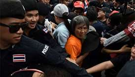 Anti-government protesters in Thailand demand general election