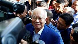 Former Malaysian PM Najib arrested in 1MDB case