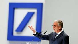 Deutsche Bank supervisory board chairman Paul Achleitner