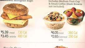 Calories on menus won't slim down America