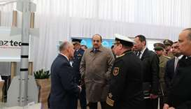 Defence minister visits Astana show