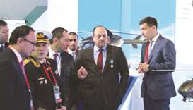 Defence minister visits arms expo in Kazakhstan