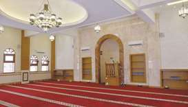 interior of masjid