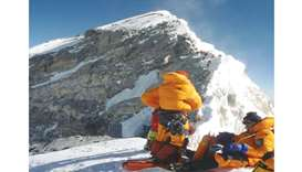 Everest's Hillary Step now a 'slope'