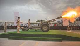 'Ramadan Cannon' brings happiness to the fasting