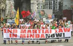 Duterte urged to lift martial law in Mindanao