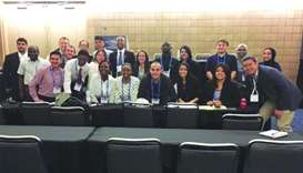 QU students participate in American Chemical Society meeting