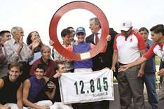 Jorge Ricardo, best jockey in history after a long fight