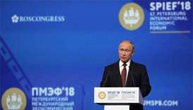Putin says Russian rocket did not shoot down MH17