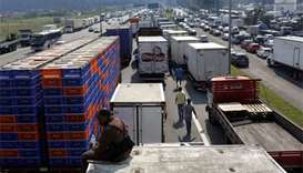 Brazil's security forces ordered to remove trucker blockades