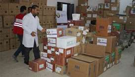 QFFD and QRCS aid Libya's medical sector