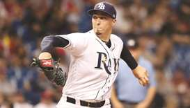 Rays' Snell masterful again against Red Sox