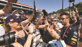 Red Bull's Ricciardo looking for Monaco Grand Prix payback