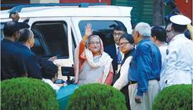 Bangladesh Prime Minister Sheikh Hasina yesterday sought co-operation from the international communi