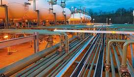 Natural gas pipeline in USA