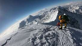 Cryptocurrency stunt on Everest linked to Sherpa death