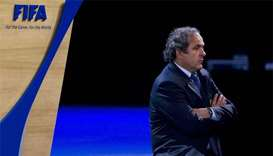 Platini says FIFA must end his ban, but probe goes on