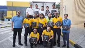 Doha Festival City team provides 2,000 Iftar boxes