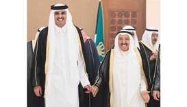 Amir's visit bolsters Qatar's ties with Kuwait