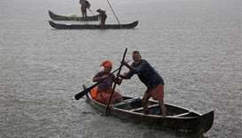 Monsoon rains hit India's southern coast three days early