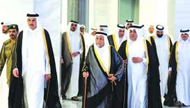 Amir hosts Iftar banquet for members of ruling family and dignitaries