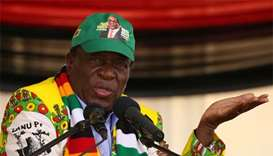 Zimbabwe's Mnangagwa calls for elections on July 30