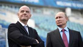 Russia 'absolutely ready' for World Cup, says FIFA boss