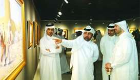 Magnificence of Arabian horses framed in Katara exhibition