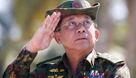 Myanmar army chief Min Aung Hlaing