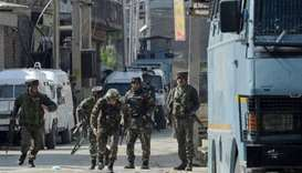 Four killed in clashes in Kashmir