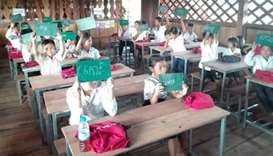 EAA Foundation and Sherborne Qatar support school in Cambodia