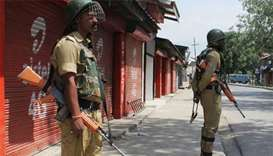 Protesters killed as Indian troops move on militants in Kashmir