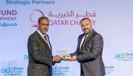 QC was honoured with the Change Maker Award at the Aid & Trade Conference and Exhibition.