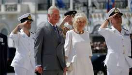 Prince Charles, Camilla begin first official visit to Greece